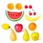 Игровой набор фруктов Miniland в пластиковой корзине 15 эл. (30765) 0