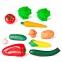Игровой набор овощей Miniland в пластиковой корзине 11 эл. (30766) 0