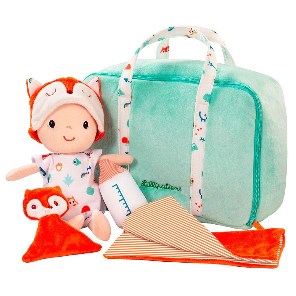 Кукла Lilliputiens Алекс в чемодане | ZABAVKA