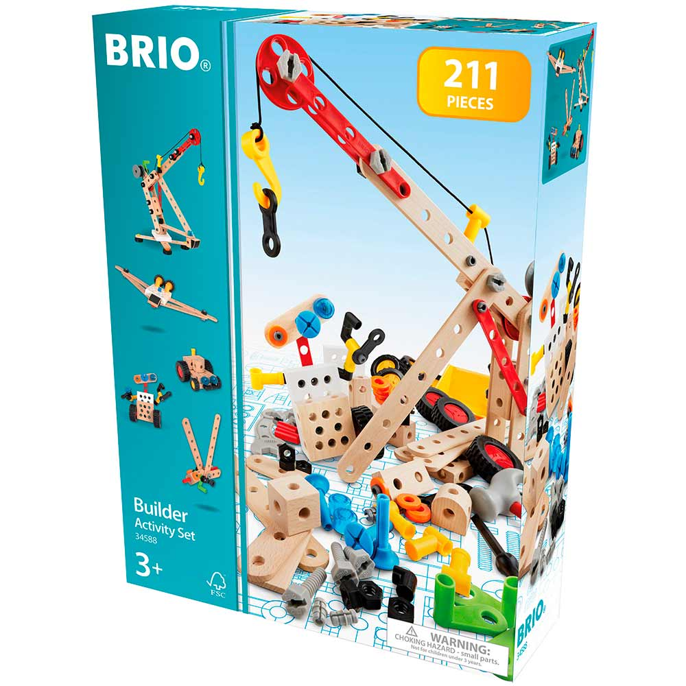 Конструктор BRIO Builder 211 эл. (34588) | ZABAVKA