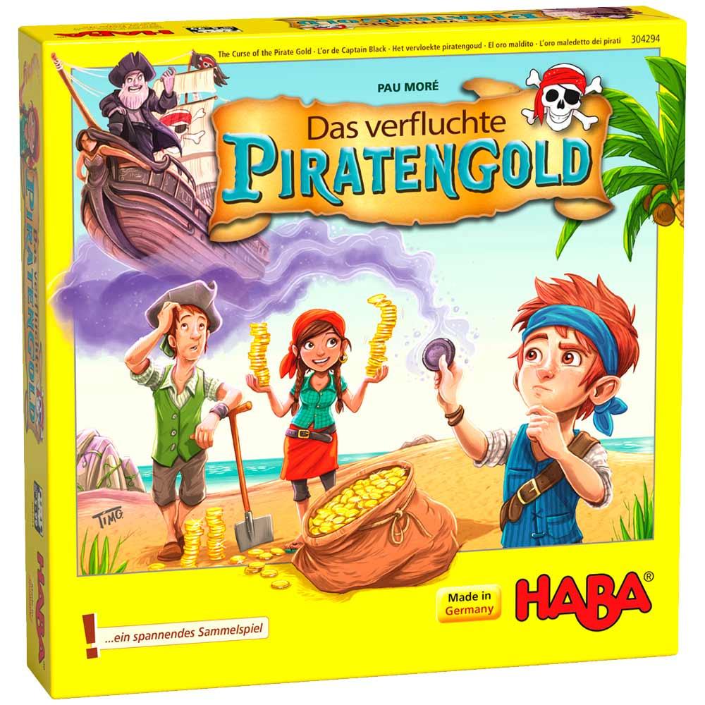 Настольная игра HABA Пиратские Сокровища (304294) | ZABAVKA