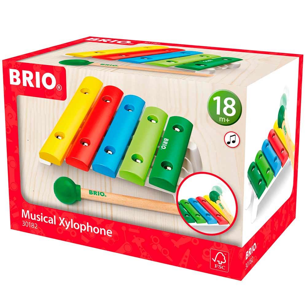 Музыкальный инструмент BRIO Ксилофон (30182) | ZABAVKA