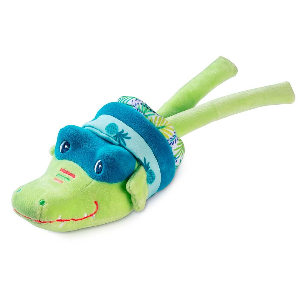 Вибрирующая игрушка Lilliputiens крокодил Анатоль | ZABAVKA