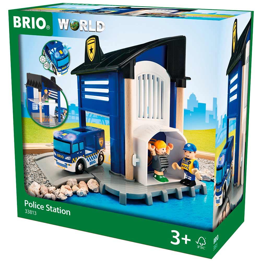 Игровой набор BRIO Полицейский участок (33813) | ZABAVKA