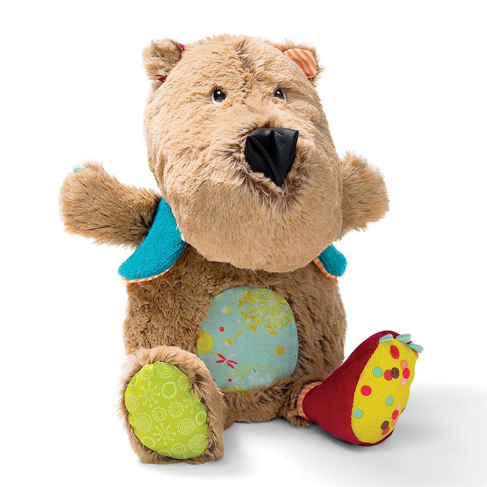 Музыкальный ночник Lilliputiens медведь Цезарь | ZABAVKA