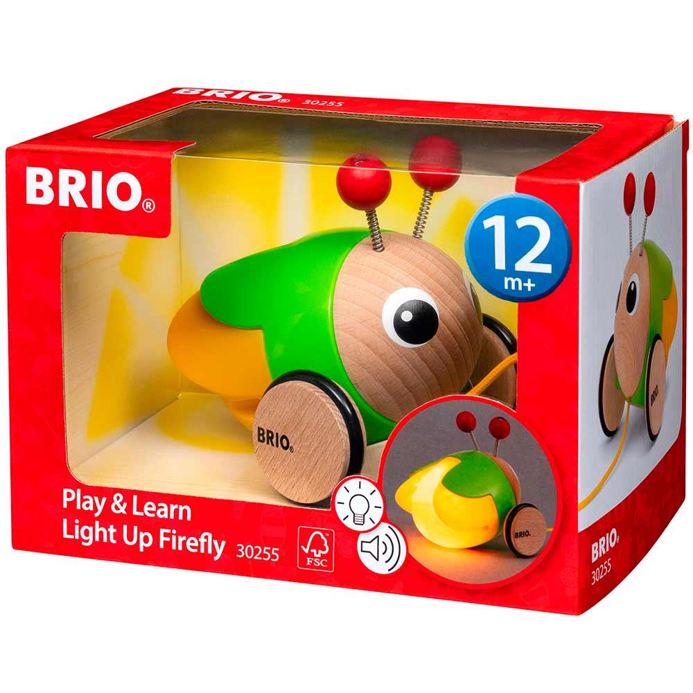 Игрушка-каталка BRIO Светлячок (30255)   ZABAVKA
