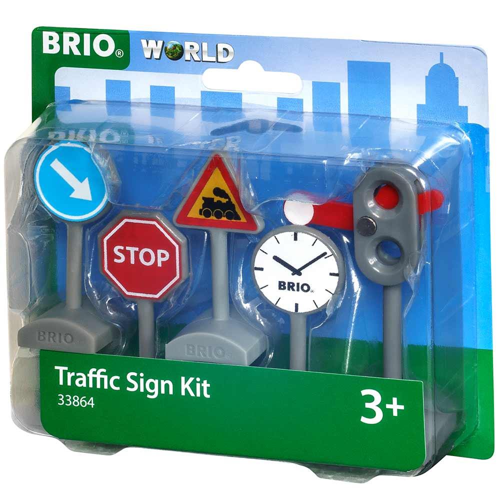 Набор дорожных знаков для железной дороги BRIO (33864) | ZABAVKA