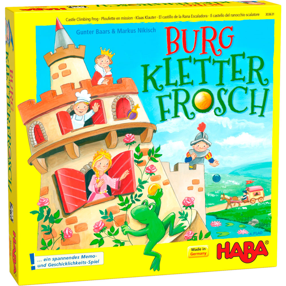 Настольная игра HABA Замок лягушки скалолаза (303631) | ZABAVKA