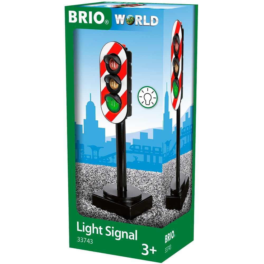 Светофор для железной дороги BRIO (33743) | ZABAVKA