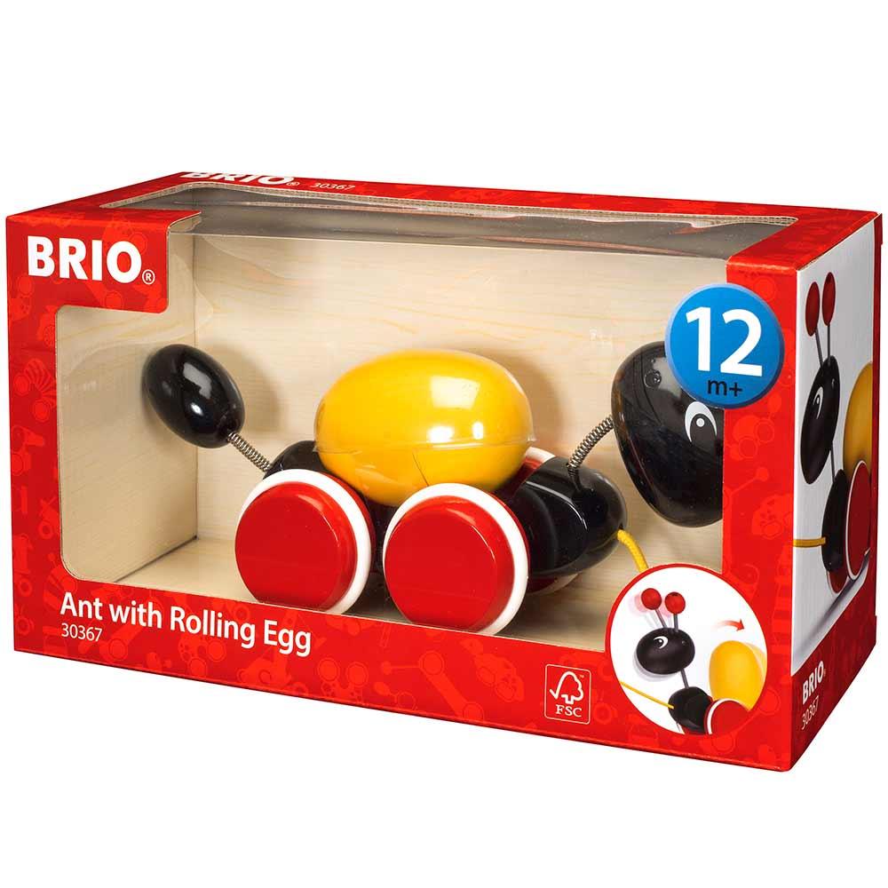Игрушка-каталка BRIO Муравей (30367) | ZABAVKA