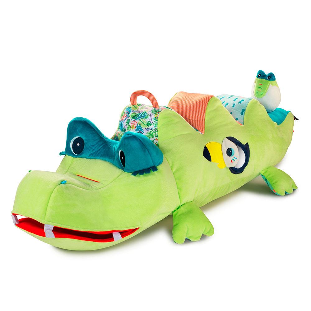 Большая развивающая игрушка Lilliputiens крокодил Анатоль | ZABAVKA