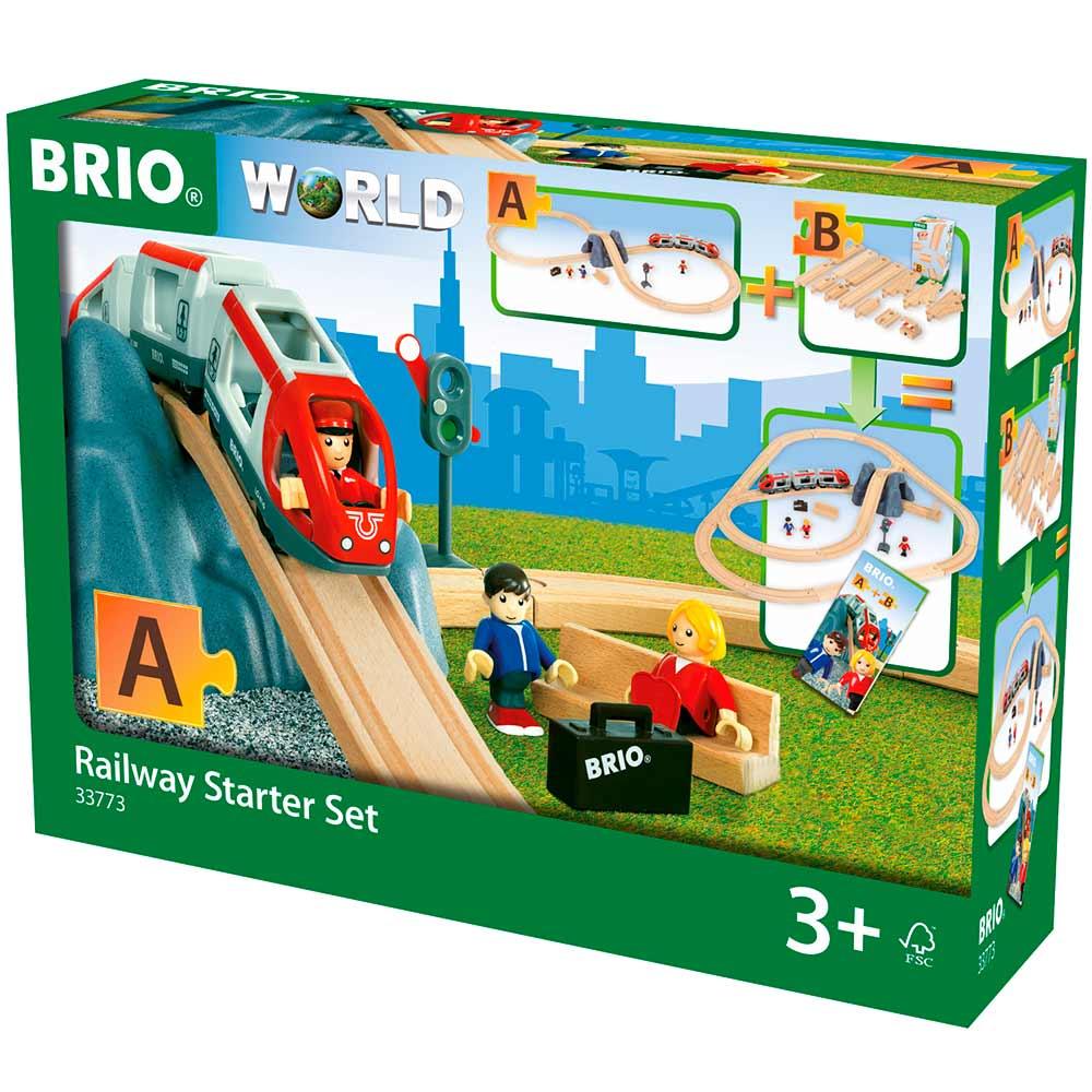 Детская железная дорога BRIO Стартовый набор (33773) | ZABAVKA