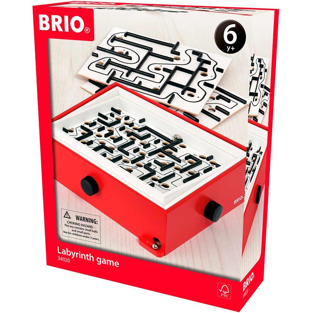 Настольная игра BRIO Лабиринт с доп. уровнями (34020) | ZABAVKA