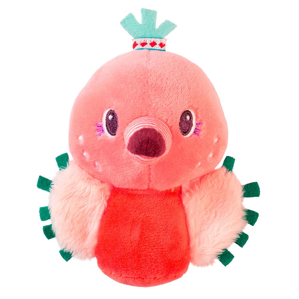 Мини-погремушка Lilliputiens фламинго Анаис | ZABAVKA