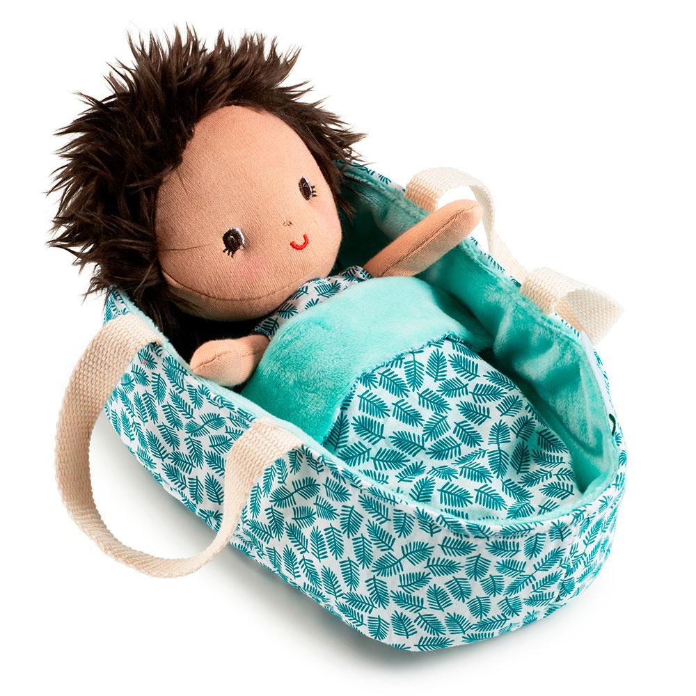 Кукла в люльке Lilliputiens Ари | ZABAVKA