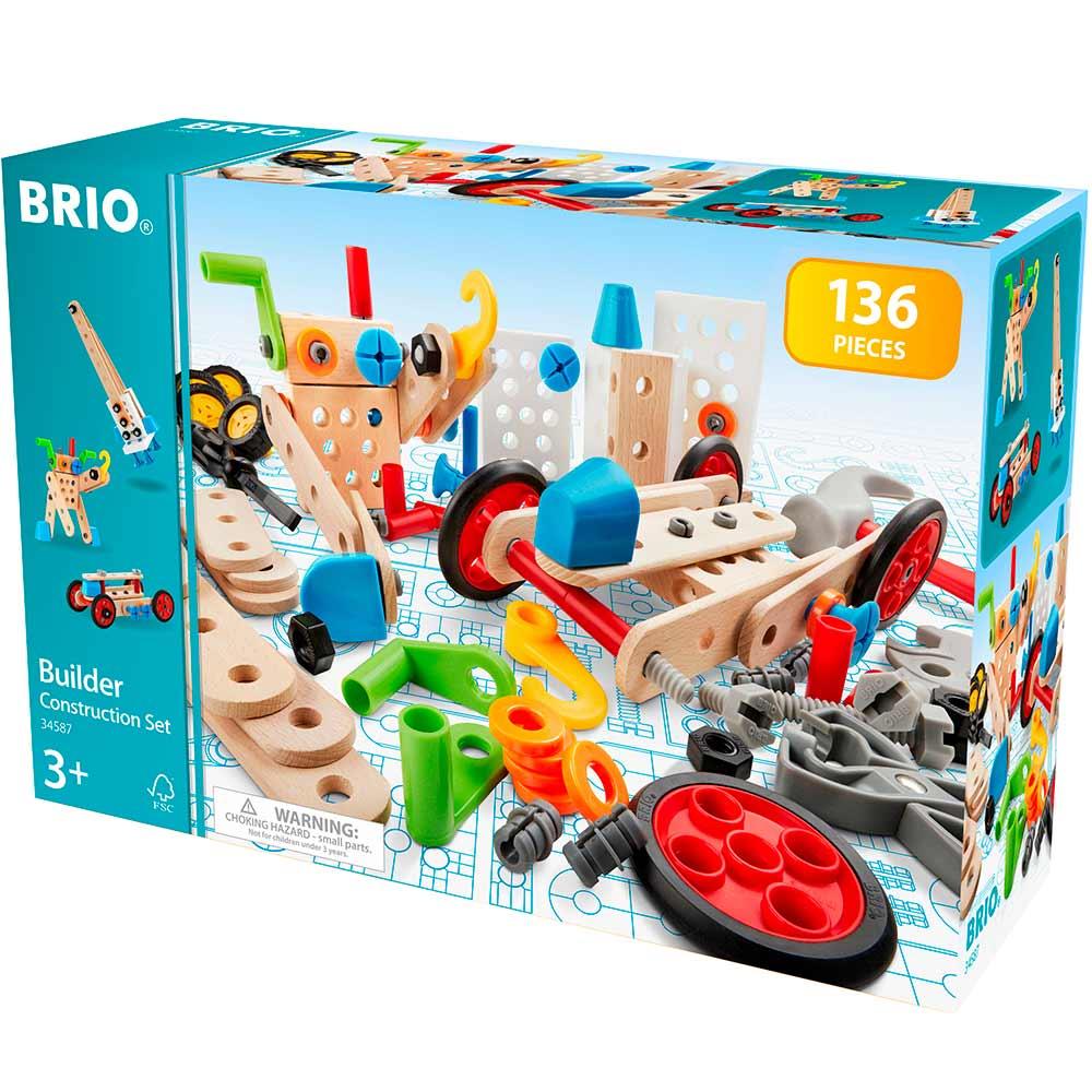 Конструктор BRIO Builder 136 эл. (34587) | ZABAVKA