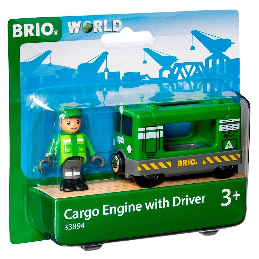 Ремонтный вагон для железной дороги BRIO с машинистом (33894) | ZABAVKA