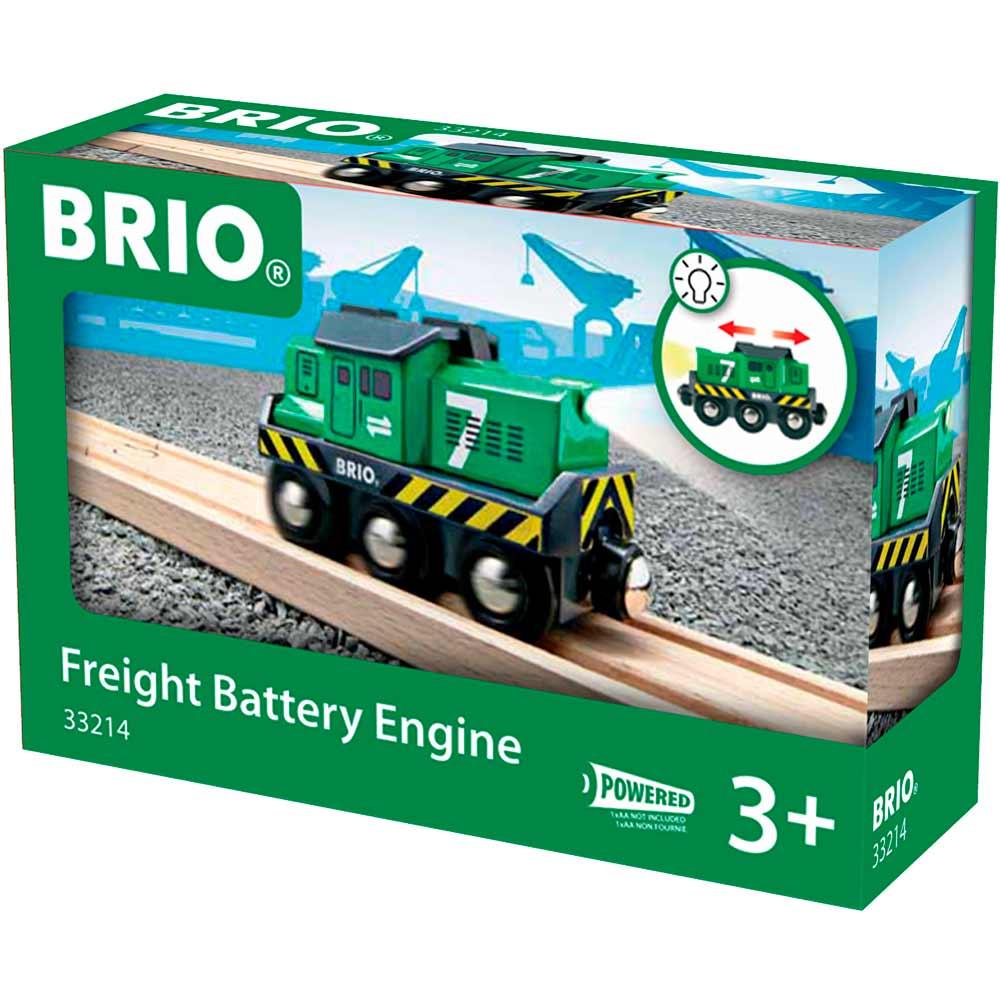 Локомотив для железной дороги BRIO на батарейках (33214) | ZABAVKA