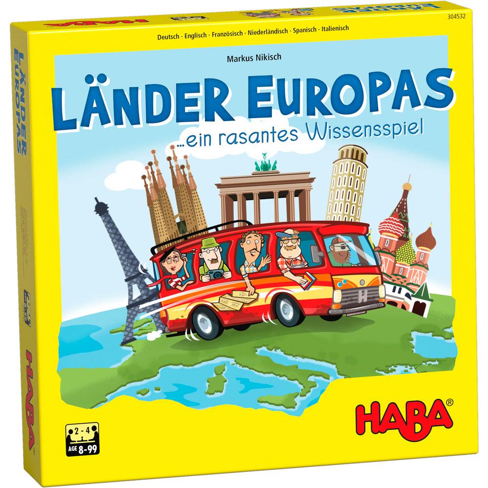 Настольная игра HABA Страны Европы | ZABAVKA