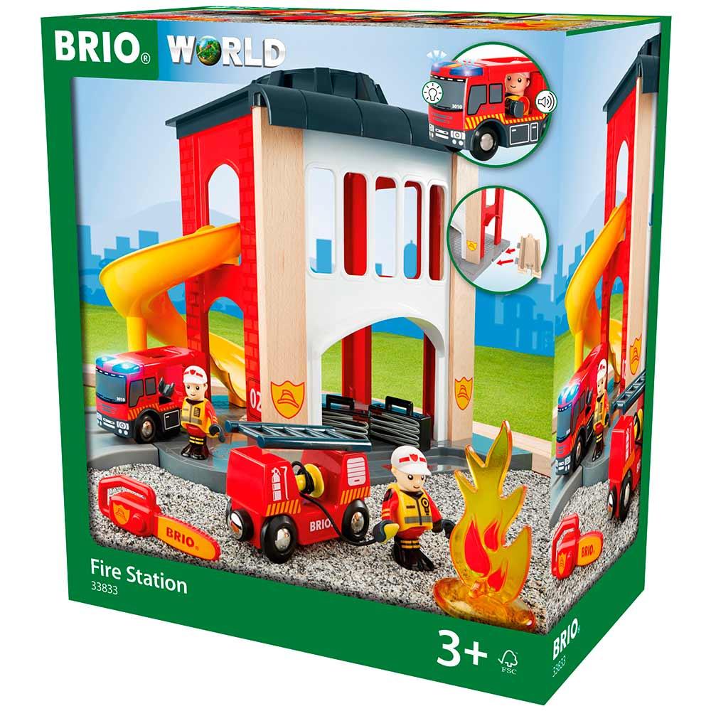 Игровой набор BRIO Пожарная станция (33833) | ZABAVKA