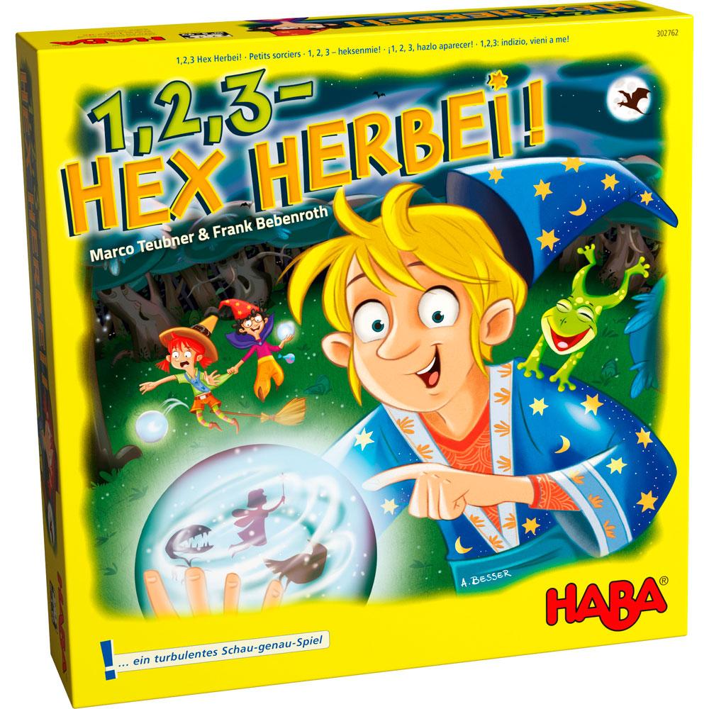 Настольная игра HABA Раз, два, три - Волшебство яви! (302762) | ZABAVKA
