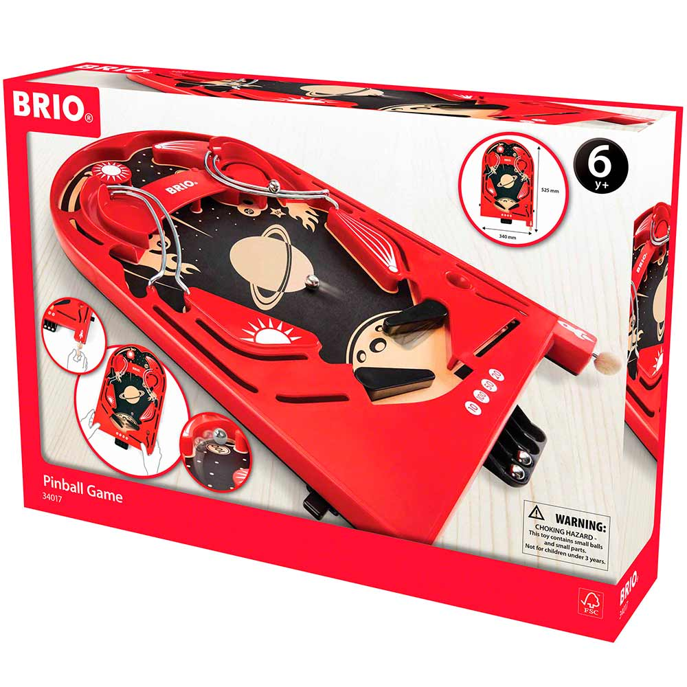 Настольная игра BRIO Пинбол (34017)   ZABAVKA