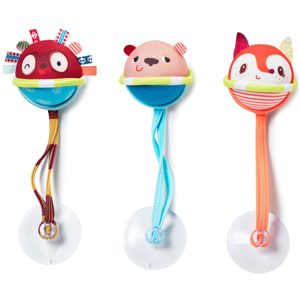 Игрушка для ванной Lilliputiens Три мяча | ZABAVKA