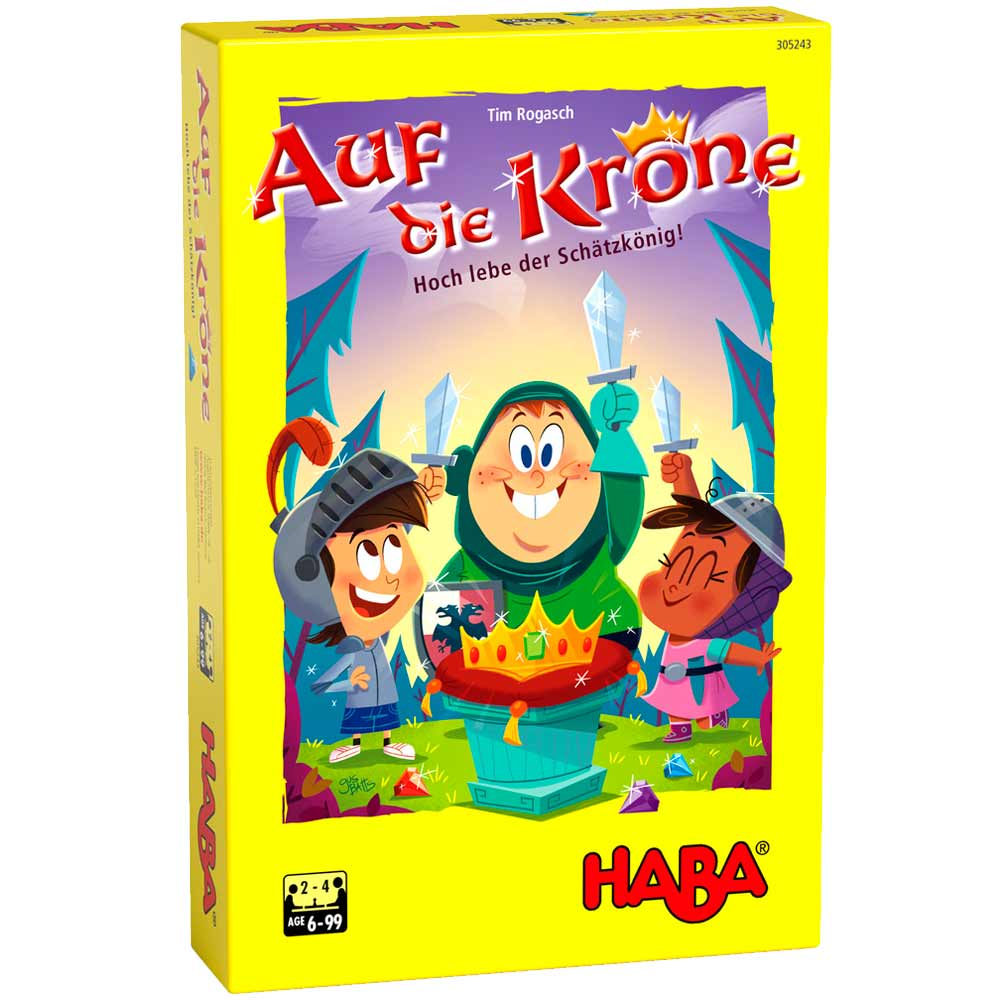 Настольная игра HABA Да здравствует Король! (305243) | ZABAVKA