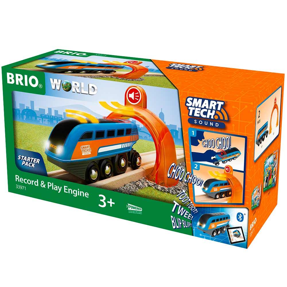 Локомотив BRIO Smart Tech со звукозаписью (33971) | ZABAVKA
