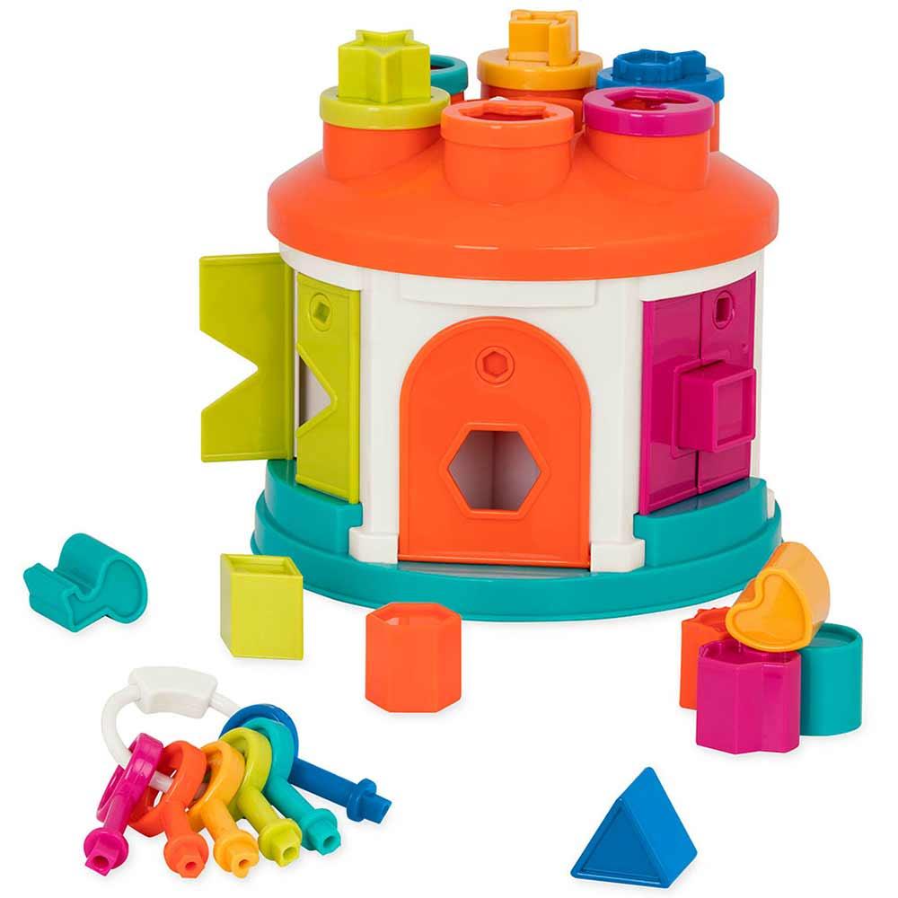 Развивающая игрушка-сортер Battat - Умный домик (BT2580Z) | ZABAVKA