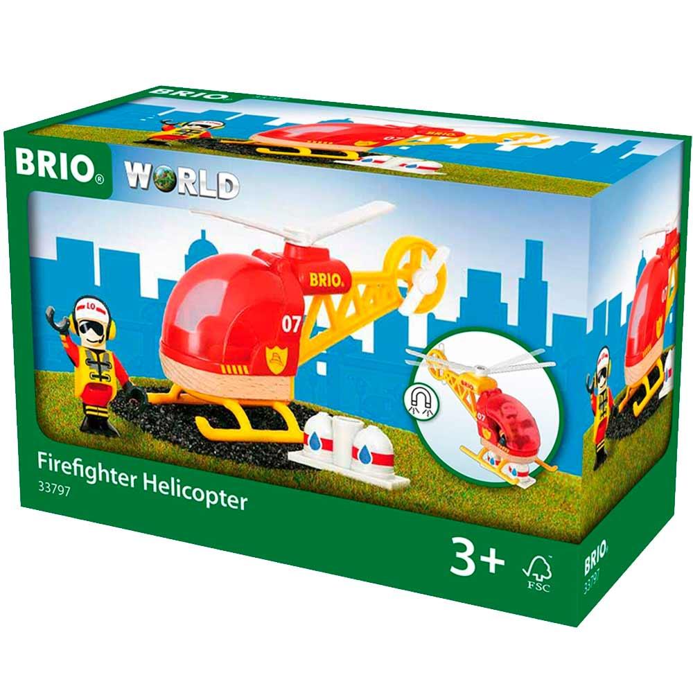 Пожарный вертолет BRIO (33797) | ZABAVKA