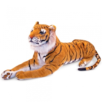 Гигантский плюшевый тигр Melissa & Doug Tiger Plush 1,8 м (MD12103)  | ZABAVKA